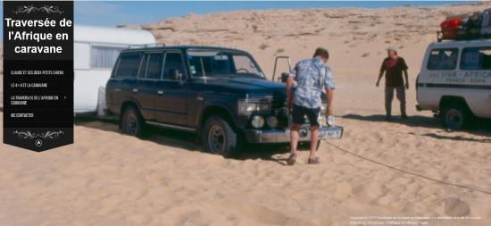 Blog Traversée de l'Afrique en caravane