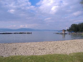 Plage à Estavayer-le-Lac