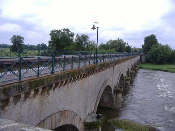 Le pont canal de Digoin