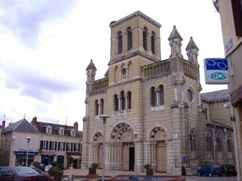 L'église de Digoin