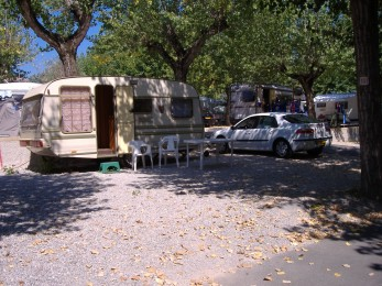 Emplacement au camping Sirmione