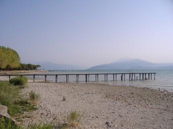 le bord du lace de Garde