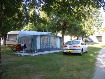 Emplacement au camping Azpitarté