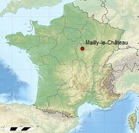 Carte de Mailly-le-Château