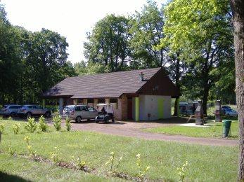Sanitaires camping Aubigny