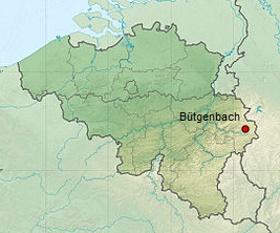 Carte de Bütgenbach