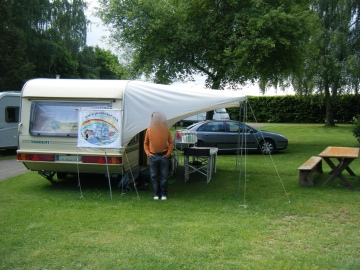 Emplacement sur le camping Fraso Ranch