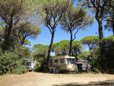 Emplacement au camping Cielo Verde