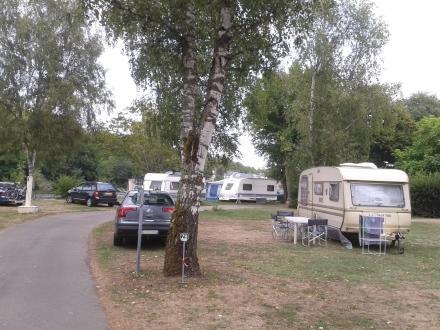 Emplacement au camping Les Halles, à Decize