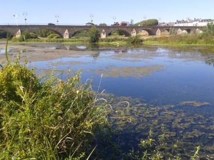 La Loire, face à Decize
