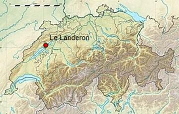 Le Landeron, en Suisse