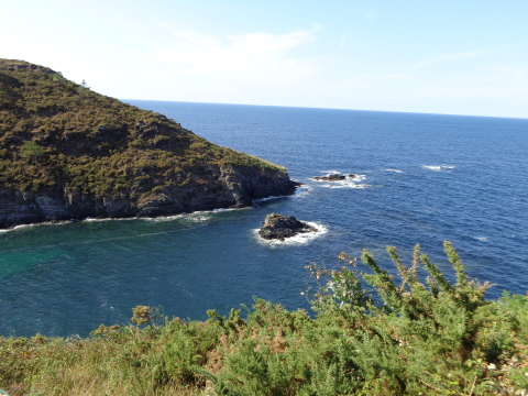 la vue sur l'Océan Atlantique