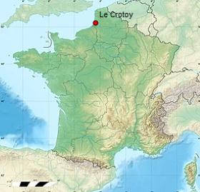 Carte Le Crotoy