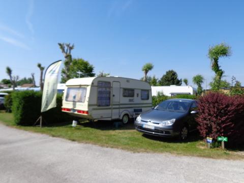 Emplacement de camping à Le Crotoy