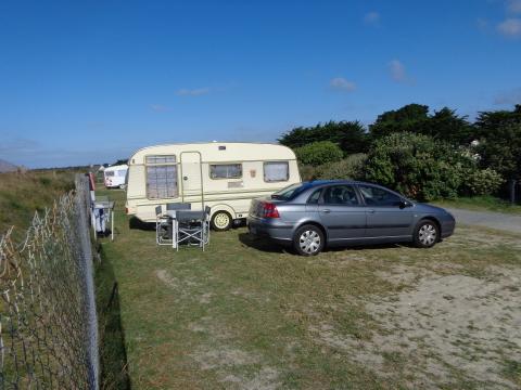 Emplacement au camping La Grée Penvins